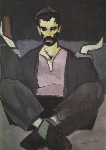 Lorenzo Viani - Mendicante, 1918