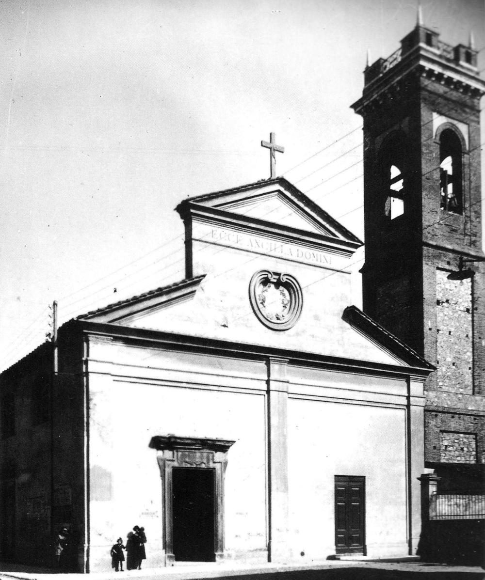 Viareggio  - SS.Annunziata - Foto tratta dal libro A Viareggio con il treno dei ricordi - Pezzini Ed.