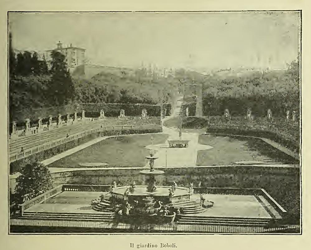 Firenze - Giardino Boboli