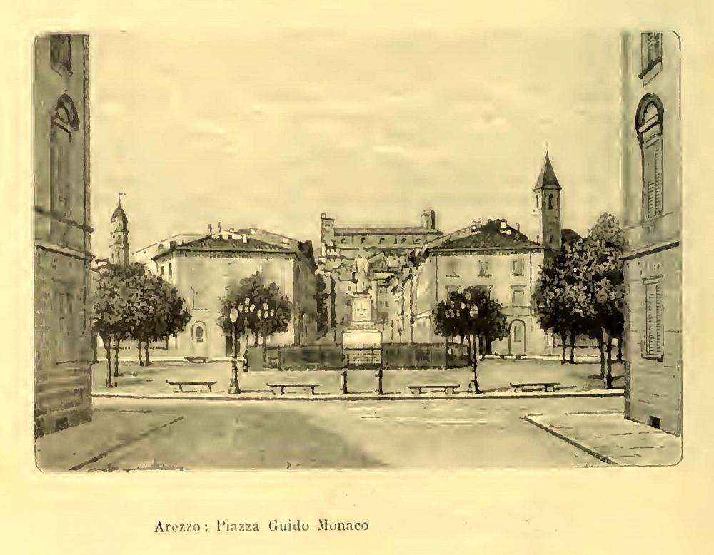 Arezzo - Piazza Guido Monaco